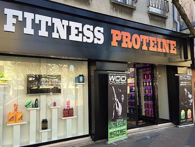 Vous pouvez faire votre choix tranquillement à notre boutique Fitness Proteine