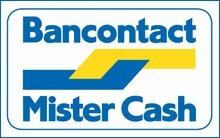 Paiement par Carte Bancontact MisterCash